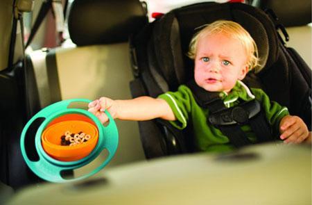 ظرف غذای کودک Gyro Bowl با قابلیت چرخش کامل