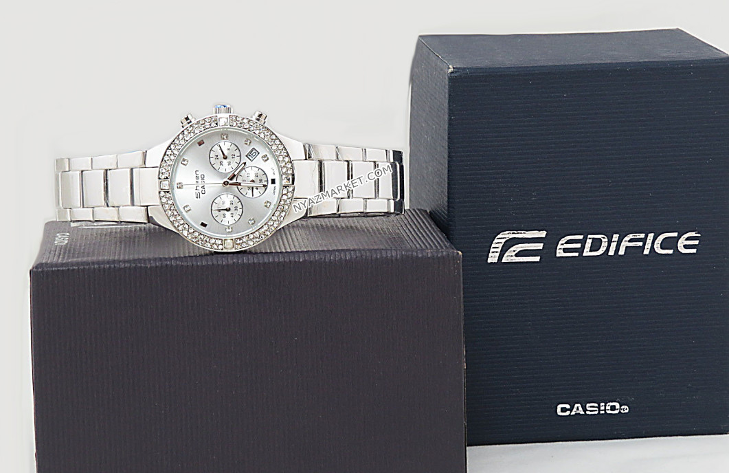 ساعت کاسیو زنانه,خرید ساعت زنانه,ساعت مچی زنانه,فروش ساعت زنانه اصل,ساعت سه موتوره کاسیو شین,سفارش آنلاین ساعت کاسیو سه موتوره اورجینال,ساعت کاسیو CASIO SHEEN مدل SHN-8211,قیمت ساعت دخترانه