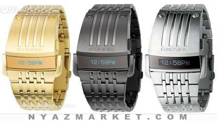 خرید ساعت - ساعت مچی - ساعت ال ای دی - ساعت led -  ساعت LED طرح فضایی دیزل - ساعت مرکوری - ساعت مارک دار DESSEL - خرید عمده ساعت
