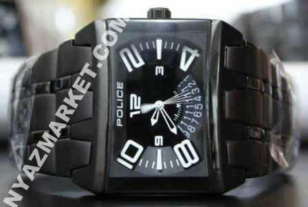 خرید ساعت - ساعت مچی - فروشگاه اینترنتی - ساعت پلیس - ساعت police  مشکی