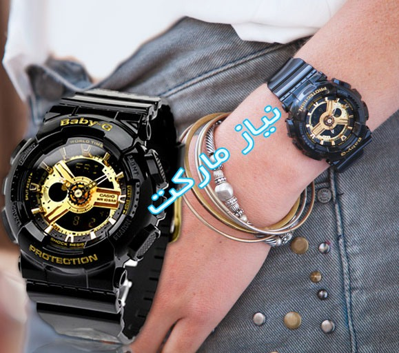 خرید پستی ساعت مچی زنانه کاسیو جی شاک بی بی جی g shock baby g