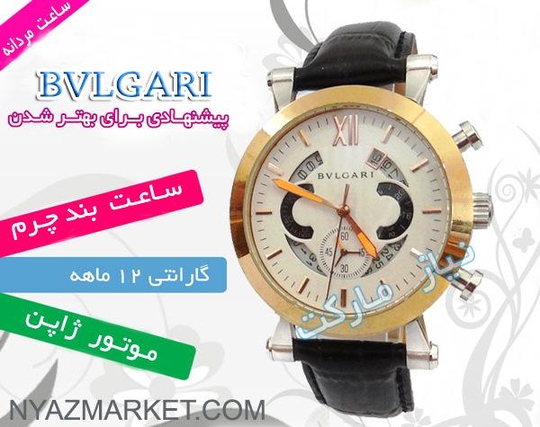 فروش ساعت مردانه اتوماتیک Bvlgari