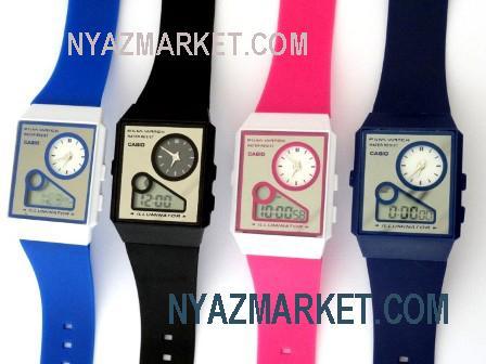خرید اینترنتی پستی ساعت کاسیو دو زمانه مدل 2013 جدید قیمت نمایندگی