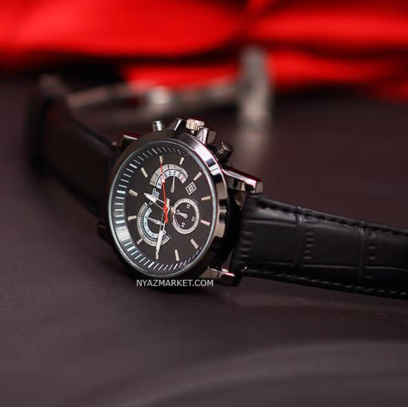 خرید ساعت کاسیو,ساعت مردانه طرح سه موتوره,ساعت فیک,ساعت های کپی,ساعت کاسیو ادیفایس مدل BEM-506,ساعت تک موتوره کاسیو,کاسیو CASIO EDIFICE BEM 506 FULL BLACK