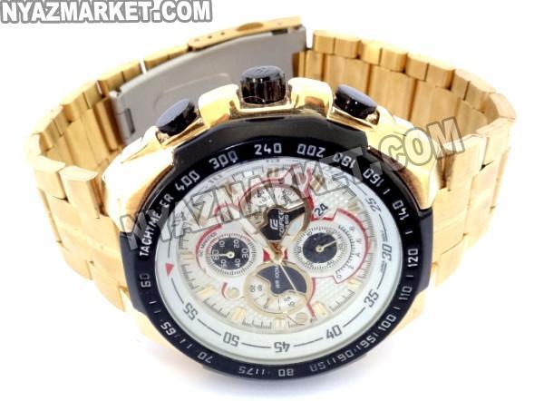 فروش اینترنتی ساعت کاسیو رنگ طلایی مدل 554