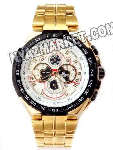 ساعت کاسیو رنگ طلایی مدل 554
