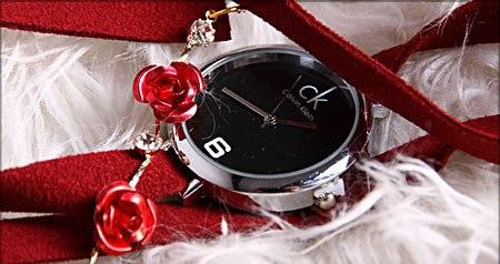 خرید اینترنتی ساعت ck طرح LOVE