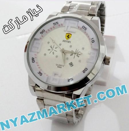خرید ساعت - ساعت مچی فراری - فروشگاه انلاین ساعت مردانه - ساعت استیل ferrari