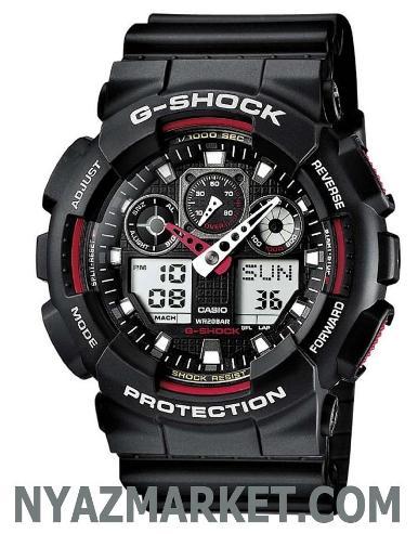 ساعت کاسیو جی شاک Casio-G-Shock-Ga-100-1A4Er