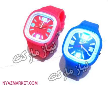 خرید ساعت مچی - ساعت ژله ای ال ای دی LED