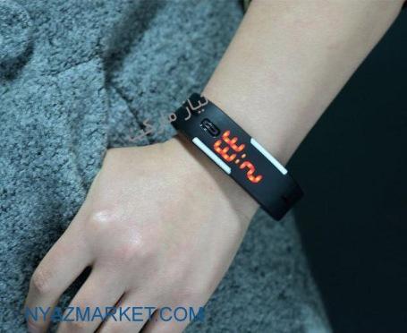 خرید ساعت ال ای دی دستبندی ارزان قیمت LED