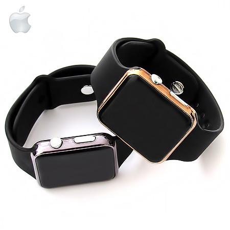 ساعت لمسی,خرید ساعت ال ای دی,ساعت مچی ال ای دی,ساعت پسرانه,ساعت طرح موبایل,ساعت led اپل واچ,ساعت تاچ اسکریم اپل واچ ,ساعت تاچ اسکرین,قیمت ساعت اپل واچ