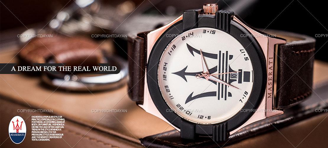 خرید ساعت مازاراتی,ساعت مچی مازاراتی,ساعت مردانه مازارتی تک موتوره, ساعت مچی مازاراتی Maserati مدل Rio Dell ,خرید اینترنتی ساعت maserati