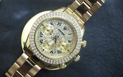 فروش ساعت رولکس پرنگین دار دیتونا فول تایم اصل