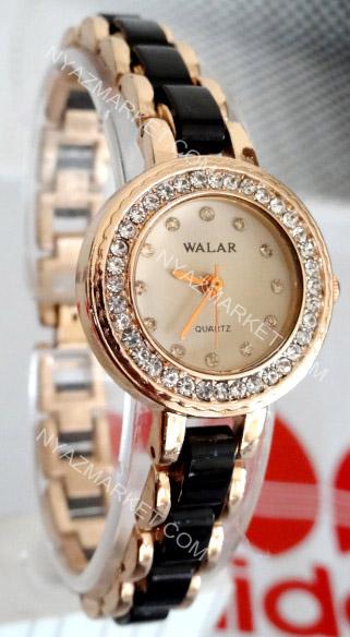 فروش اینترنتی پستی ساعت والار walar  دور مسی نگیندار دخترانه زنانه