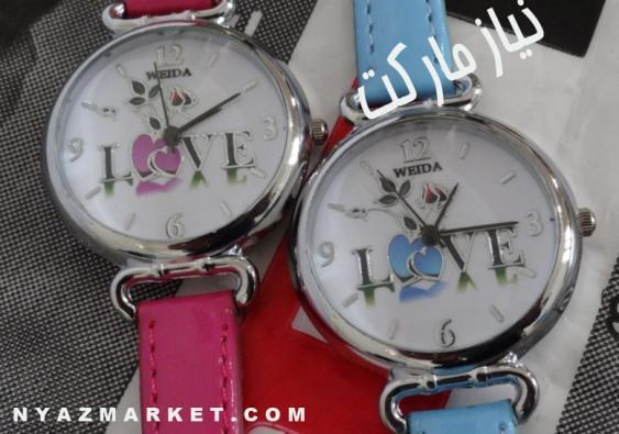 خرید ساعت - فروش ساعت - خرید اینترنتی ساعت دخترانه عشق - ساعت دخترانه love -  ساعت نماد عشق