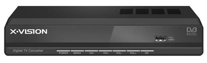 گیرنده دیجیتال ایکس ویژن X.Vision Set Top Box XDVB-353 نمایندگی فروش قیمت