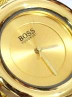 ساعت زنانه boss رنگ طلایی - خرید ساعت شیک دخترانه