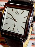 ساعت cK مستطیلی صفحه بزرگ