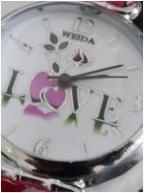 ساعت دخترانه LOVE -  ساعت مچی عشق (لاو)